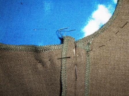 Trouser construction