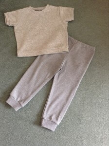 top and joggers