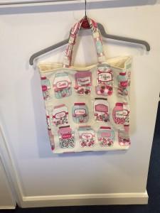 Nicola's lined tote shopper