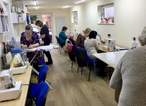 Tuesday morning class at our Farington studio