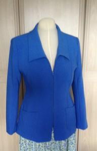 blue yoked jacket