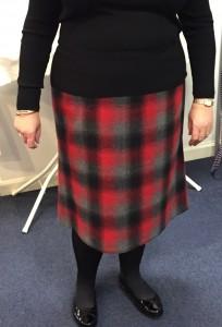 Sue's pencil skirt