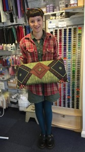 Grace's Batik cushion