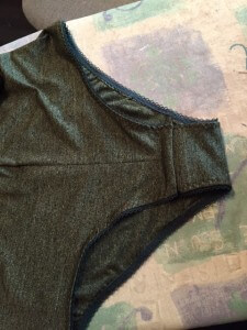 completed leotard
