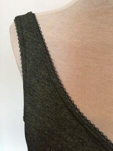 delicate lingerie trim