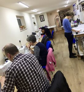Thursday evening sewing class